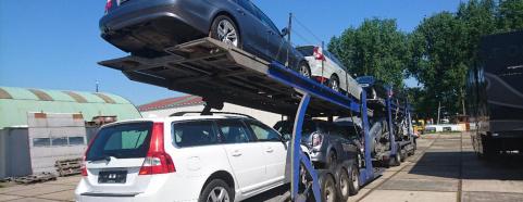 kapotte Volvo verkopen
