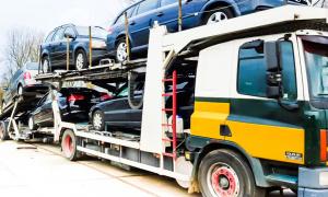 Kapotte auto voor export verkopen