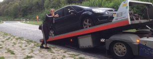 opkoper auto met defecte motor