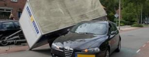 verkoop  kapotte Alfa Romeo