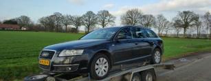 Kapotte of Schade Audi A6 of A4 voor een eerlijk bedrag verkopen